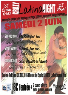 Crazy Night : Salsa , Bachata, Kizomba